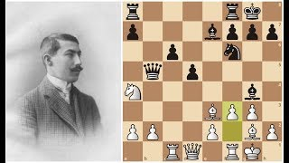 Урок позиционной игры от Акиба Рубинштейна!  ШАХМАТЫ.
