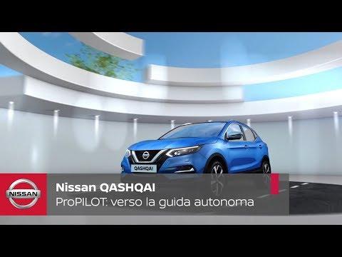 ProPILOT sul nuovo Nissan QASHQAI