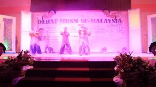 PERSEMBAHAN TARIAN FUSION (MRSM BATU PAHAT) - DEBAT MRSM 2015