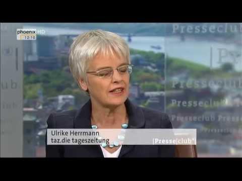 Der Grexit wird die Eurozone sprengen - Ulrike Herrmann Presseclub  28.06.2015 - Bananenrepublik