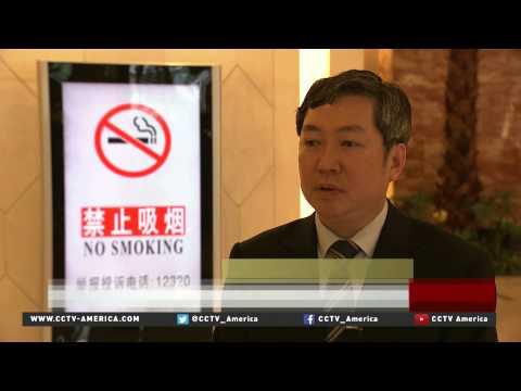 Banning public smoking in China