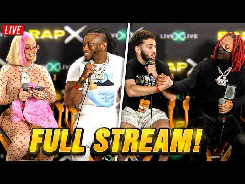 Adin Ross Interviews RAPPERS *FULL STREAM* (6/12/21)