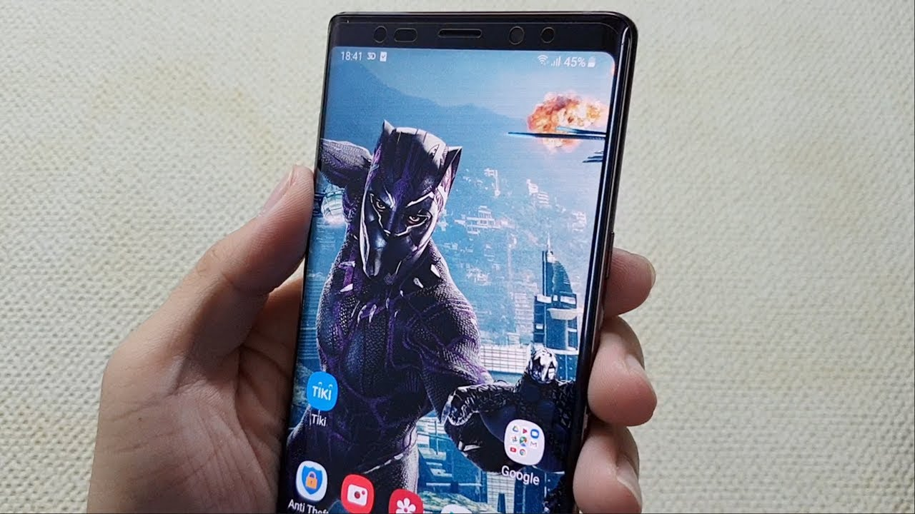 How To Set 3d Live Wallpaper For Any Android Phone Youtube