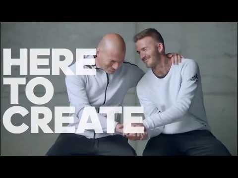 Beckham e Zidane protagonizan o último spot de Adidas
