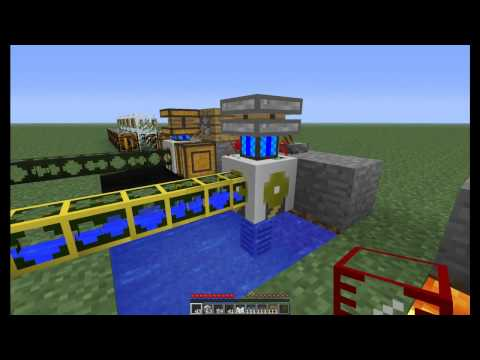 Minecraft Buildcraft Tutorials: How To Use Waterproof Pipes And Liquid Pumping - Dormphood
