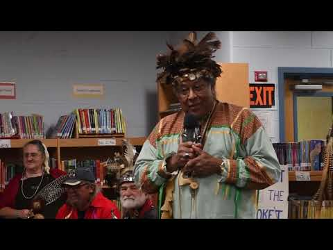 The Pokanoket Tribe at the Rockwell School in Bristol   June 12, 2019