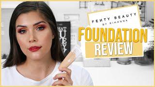 Fenty Hydrating Foundation Review on Oily Skin