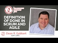 Definition of Done | Scrum and Agile | Dean Gabbert