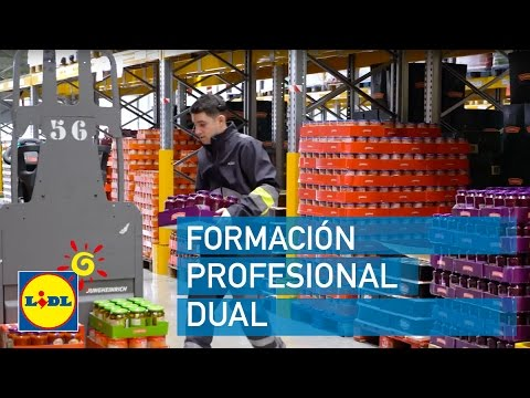 Formaci n profesional dual en almac n lidl espa a youtube for Formacion profesional cocina madrid