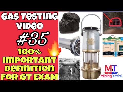 Gas testing videos || Important mining definition || Mining Videos || mining terms