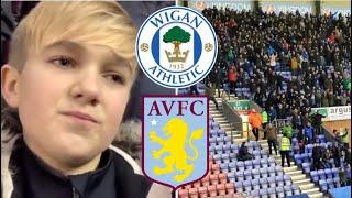 DIDN'T TURN UP | Wigan 3-0 Aston Villa (18/19)