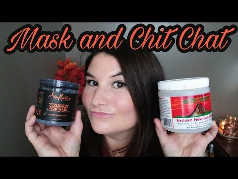 Shea moisture black African soap mask | Aztec Indian healing clay mask | Chit Chat | Valerie Dison