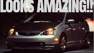 Honda Civic Si Hatchback EP3   HANDMADE custom interior mod