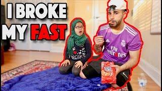 I Broke My Fast Prank.. (GONE WRONG)