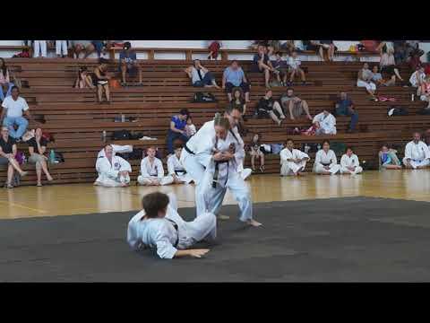 10yr old 2nd dan Black Belt in Moon Lee taekwondo