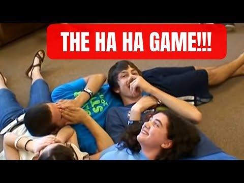 the ha ha game icebreaker very fun funny youtube. Black Bedroom Furniture Sets. Home Design Ideas