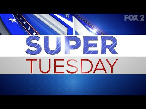 Watch LIVE Super Tuesday presidential primary results from FOX 2