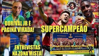 Todos os Bastidores e entrevistas do Título da Supercopa do Brasil! Flamengo x Athletico PR!