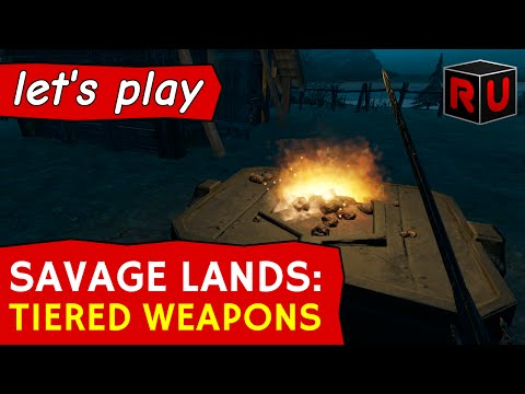 Forging new tiered weapons with smelter, coal, tin & copper | Let's play Savage Lands (S2 Ep 11)