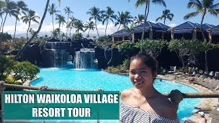2018 HILTON WAIKOLOA VILLAGE RESORT TOUR, HAWAII | jeanVLOG