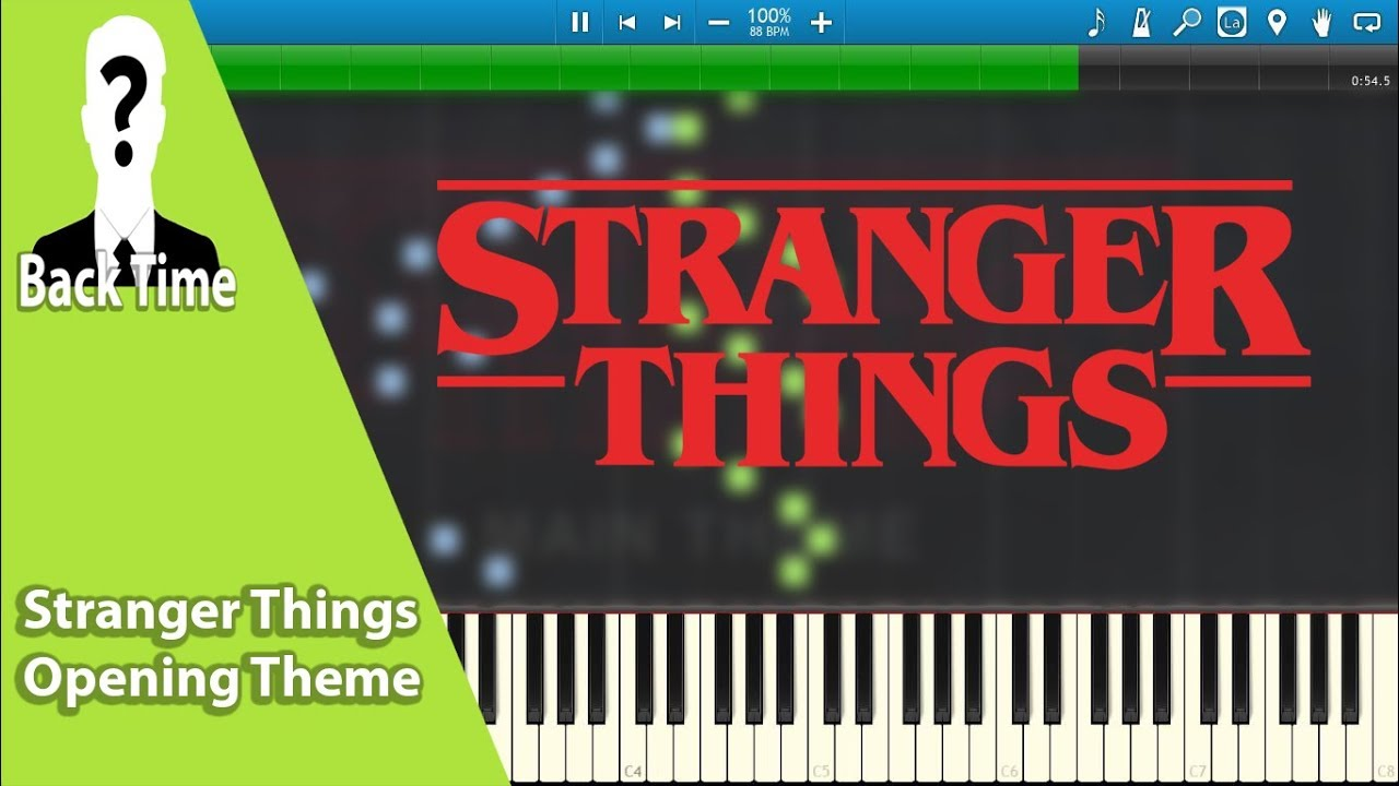 Stranger Things Opening Theme (Piano Cover) + Sheets & Midi