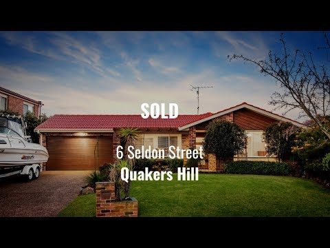 SOLD | 6 Seldon Street, Quakers Hill - with Ruma Mundi & Brad Norrie