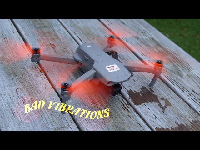 Mavic Air 2 - Vibration Problem With Master Airscrew Props