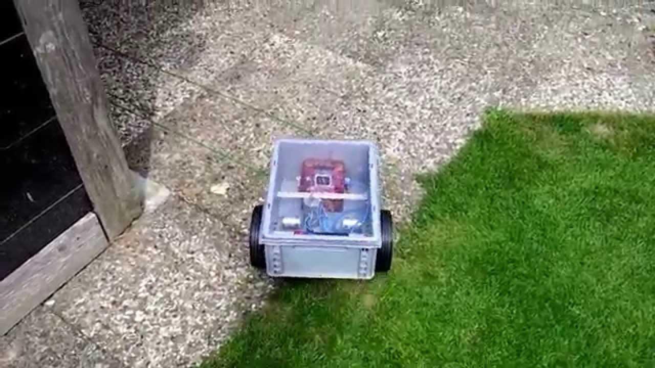 eigenbau automower rasenroboter teil3 ladestation aufsuchen youtube. Black Bedroom Furniture Sets. Home Design Ideas