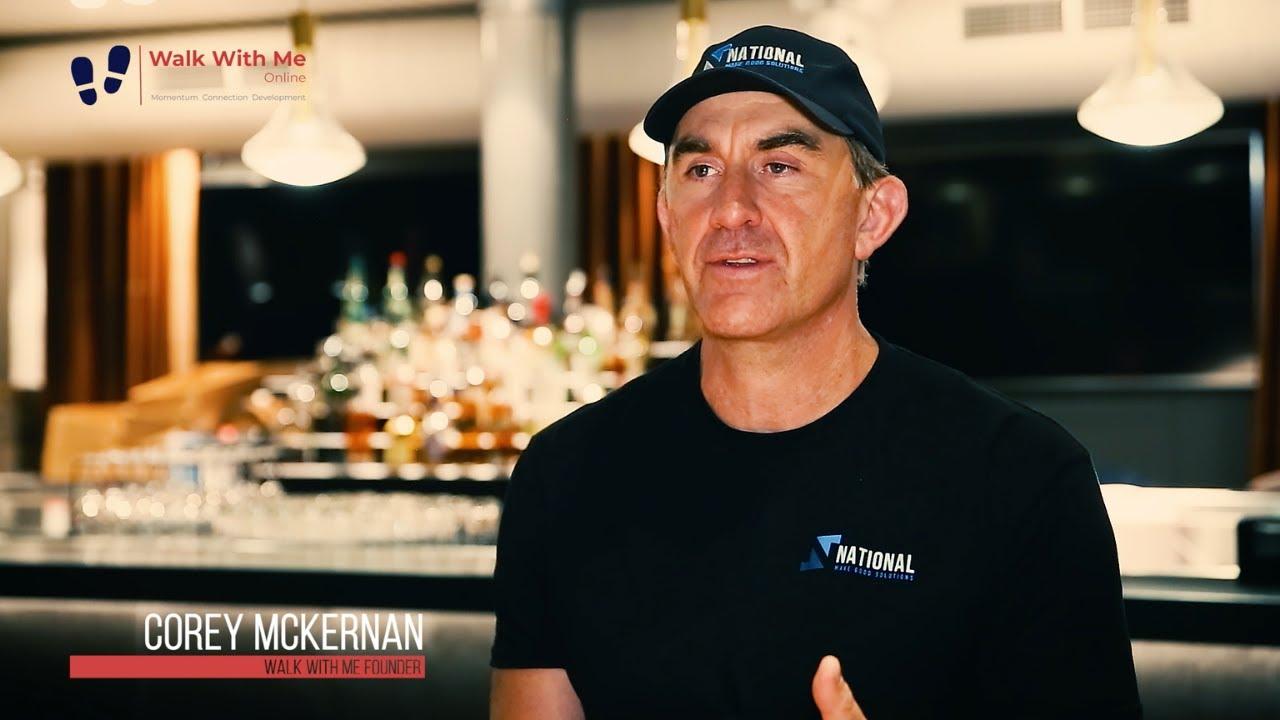 Walk With Me Online Promotional Video with Corey McKernan
