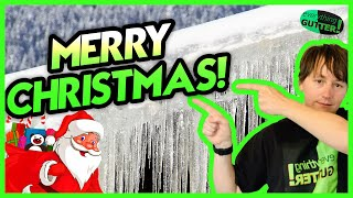 HANGING ICICLE CHRISTMAS LIGHTS With Gutter Guards, The Different Clips to use With OR Without!
