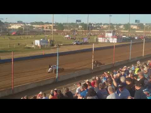 USAC Sprint Cars Heat 2 Terre Haute Action Track 5/23/18