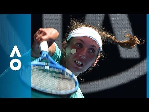 Elise Mertens v Alizé Cornet match highlights (3R)   Australian Open 2018