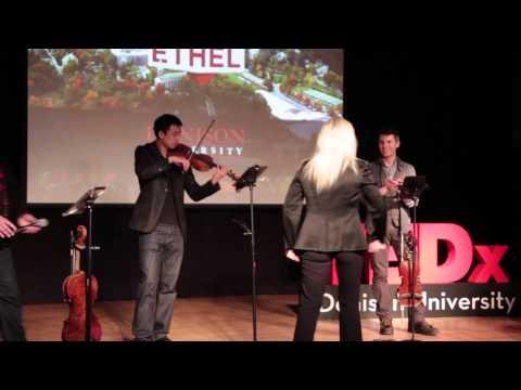 Ensemble in residence | ETHEL | TEDxDenisonU