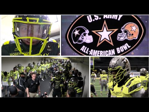 Army All-American Game 2016 featuring many of the Nation's TOP PLAYERS