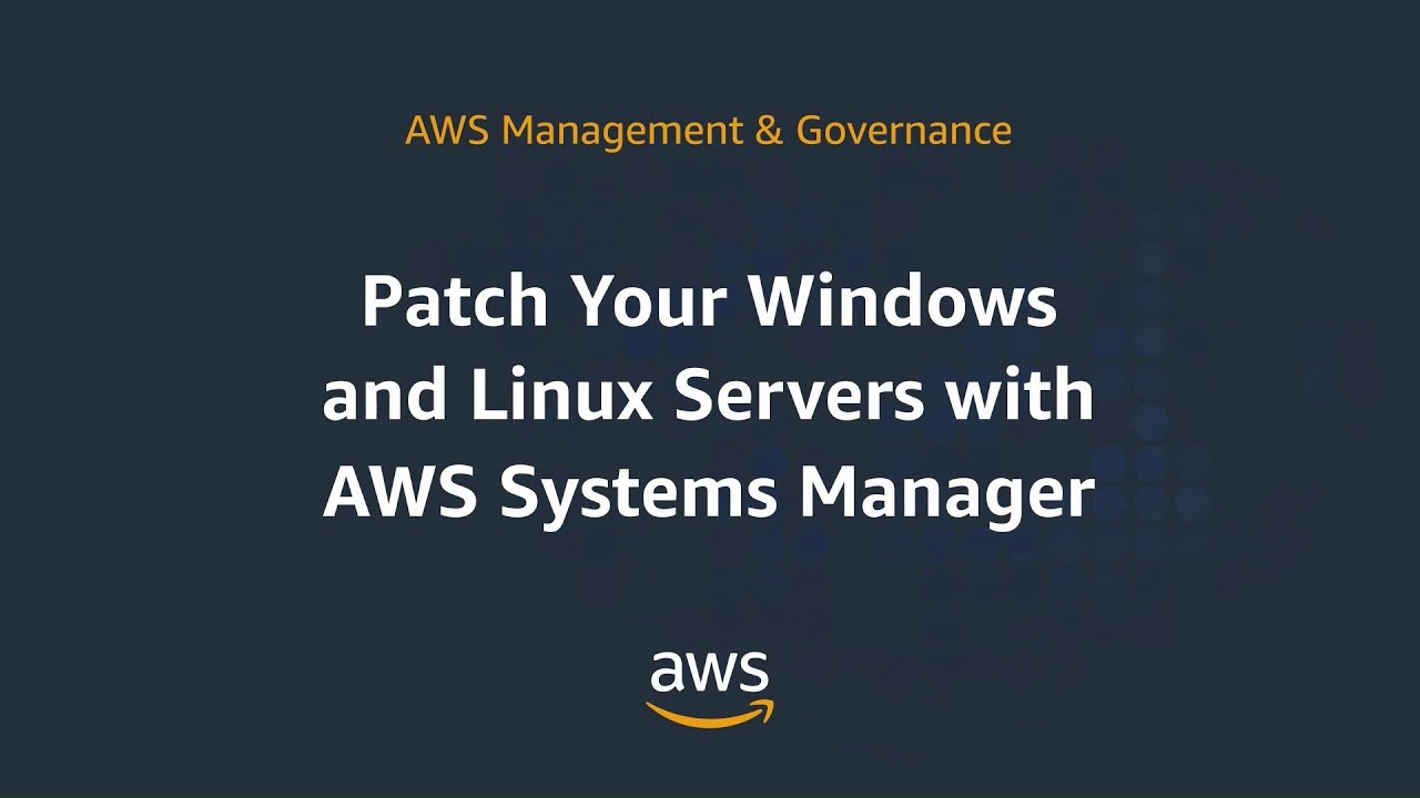 Download Patching for your Amazon EC2 Instances