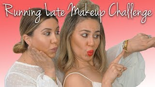 Running Late Makeup Challenge: Who Can Do Her Makeup The Fastest?
