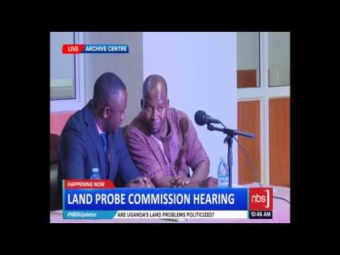 Land Probe Commisssion Hearing