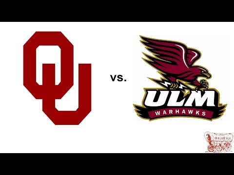 Oklahoma Highlights vs Louisiana Monroe - 9/10/16 (HD)