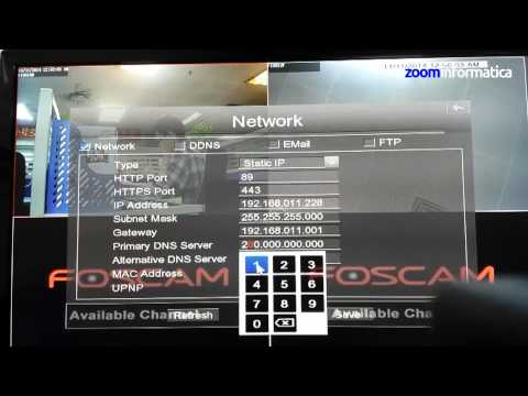 how to set up nvr remote access