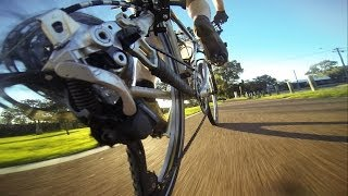 Gopro Chainstay Cam - Riding Around Lake Joondalup