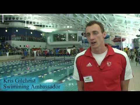 Dumfries & Galloway Active Games, Swimming