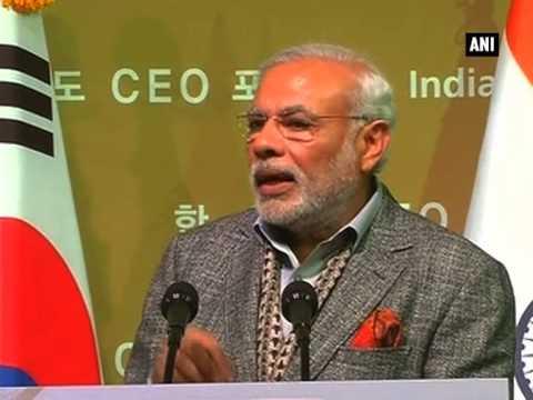 PM Modi addresses CEOs forum in Seoul, invites manufacturers and investors in India - Part - 2