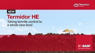 Termidor® HE - Taking termite control to a whole new level