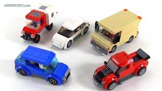LEGO City custom cars & trucks Oct. 20, 2014