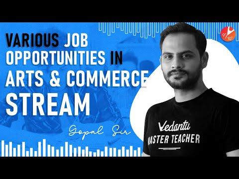 Various Job Opportunities in Commerce Stream & Arts Stream   Career Counseling   Vedantu