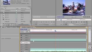 Как работать в Adobe Premiere Pro CS3 media. Часть 2.