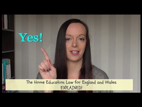The Home Education Law in England and Wales