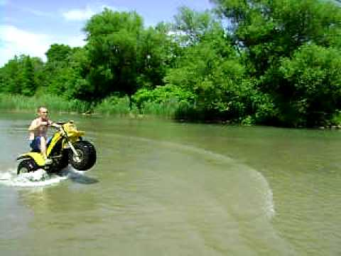 How the float a 3 wheel atv youtube how the float a 3 wheel atv sciox Image collections