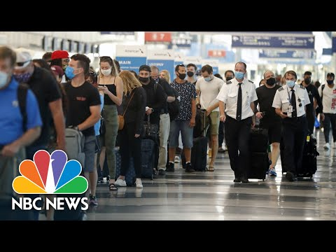 COVID-19 Concerns Grow As Millions Of Americans Expected To Travel