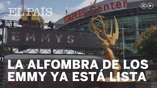 EL PAÍS recorre la alfombra roja de los premios Emmy | Televisión